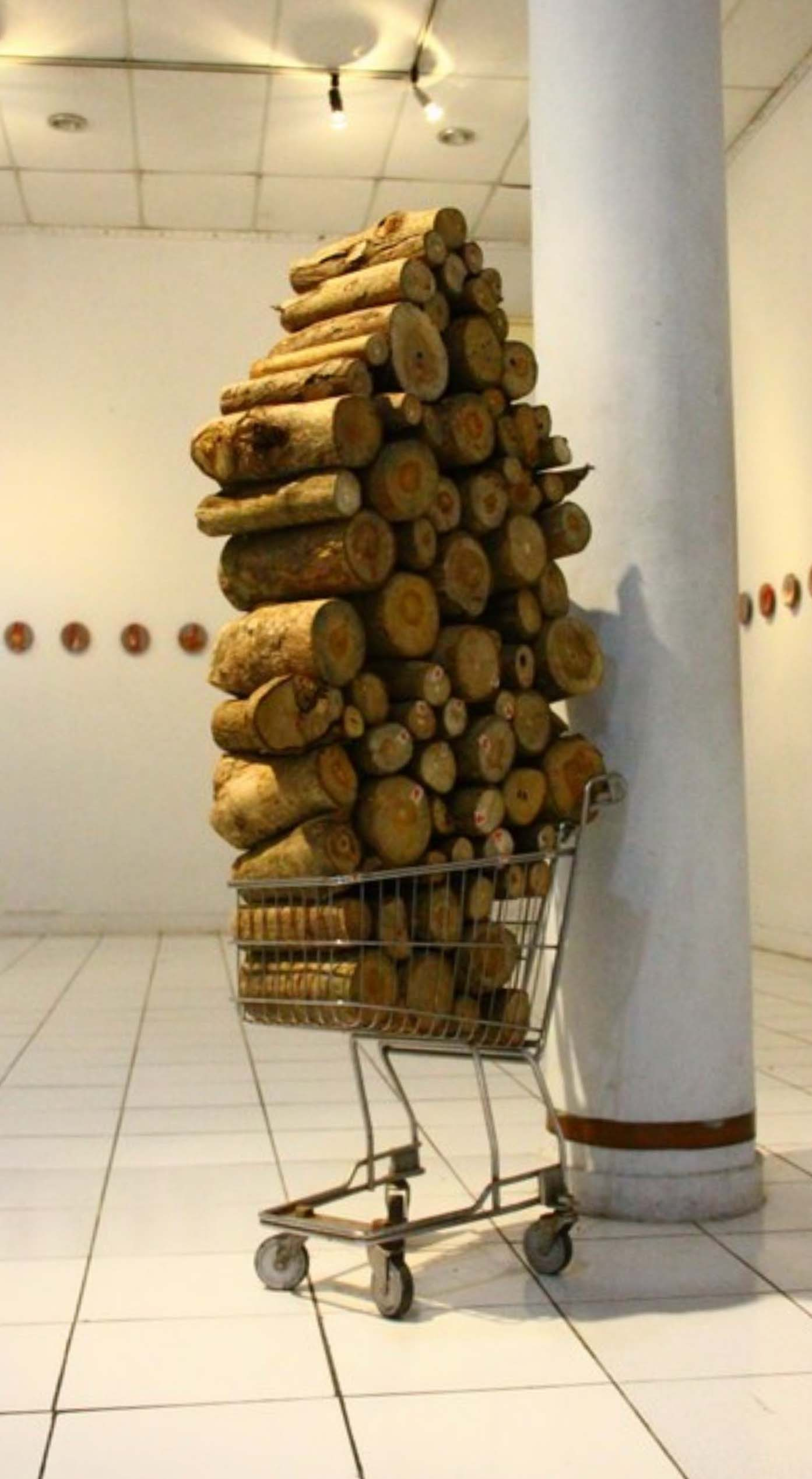 Kisah Sepanjang Jaman, Variable Dimension, 2013, Wood, Stainless Steel