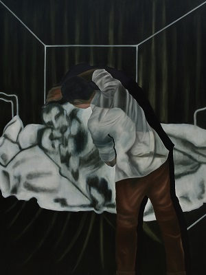 The Fight, 200x150 cm, 2015, Oil on Canvas