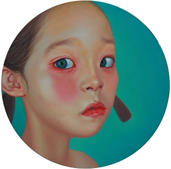小确幸系列之一, 100x100 cm, 2011, Oil on Canvas