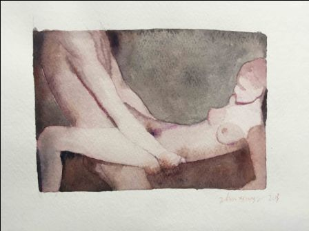 Untitled #11, 20 x 30 cm, 2013, Watercolor on Paper
