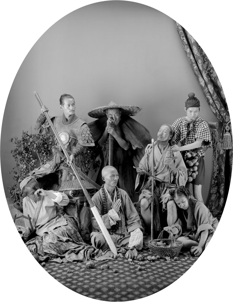 The Ming Dynasty of Jia Jing 1542 #11, 60 x 55 cm, 2010, C-Print