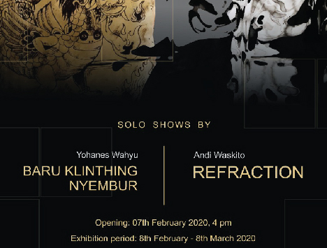 BARUKLINTING NYEMBUR / REFRACTION  solo exhibition